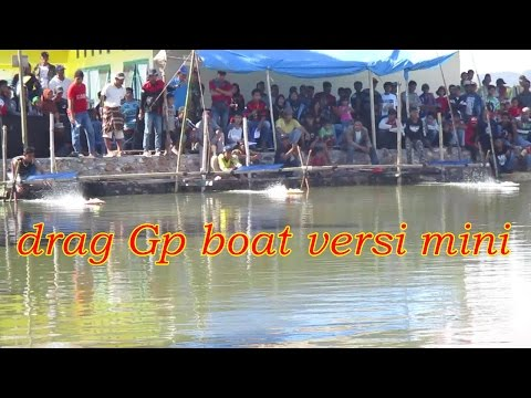 Lomba Perahu Balap Versi Mini Klas GP Kreative