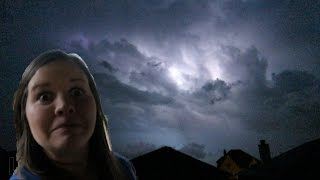 Crazy Texas Lightning Storm ?⚡️ and Family Pictures!!!