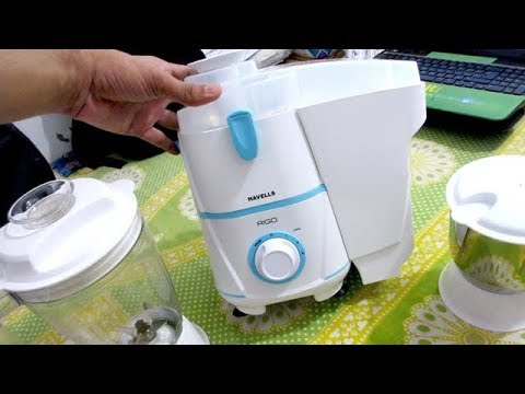 Download Havells Rigo Juicer Mixer Grinder Unboxing & Review, Havells rigo II 500-Watt