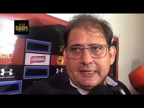 [EPS TV] Central 1 x 2 Sport: a coletiva de Guto Ferreira