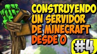 CONSTRUYENDO UN SERVIDOR DE MINECRAFT DESDE 0 | PRIMERA PUERTA