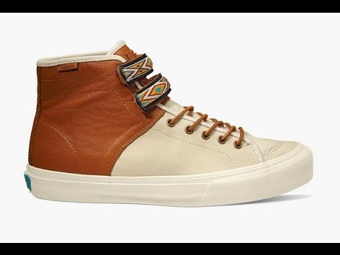 b185faf5cc Shoe Review  Vans Vault x Taka Hayashi  Leather Canvas  TH Priz Hi LX  (Turtledove Leather Brown) - YouTube