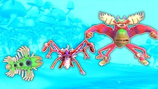 Evolving The Strongest Tribe Ever in Spore Galactic Adventures