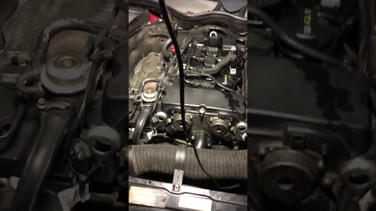 small resolution of 2005 mercedes c230 intake camshaft code problem