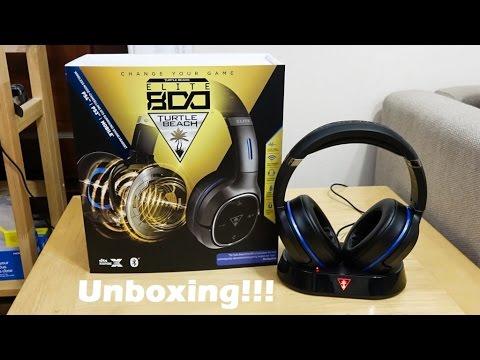 Turtle Beach Elite 800 Unboxing   PS4 setup - YouTube 41d325132787