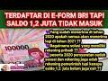 TERDAFTAR DI E-FORM BRI TAPI SALDO 1 2 JUTA TIDAK MASUK || BPUM UMKM 2021