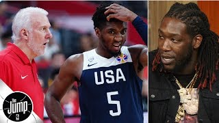 Montrezl Harrell feels like he could have helped Team USA | The Jump