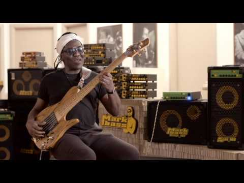 Richard Bona at Markbass Headquarters.