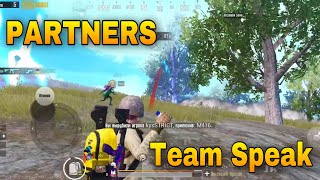 Team speak PARTNERS | Турнир на 25к | horosho sidim | PUBG MOBILE