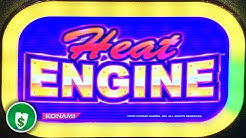 Heat Engine slot machine, several Features