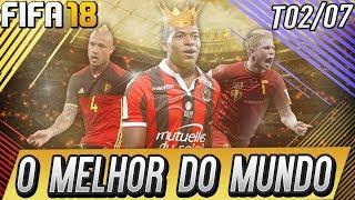FIFA 18 MODO CARREIRA - ELE É MELHOR QUE MESSI E CR7 JUNTOS!!! / T02-07 [XBOX ONE]