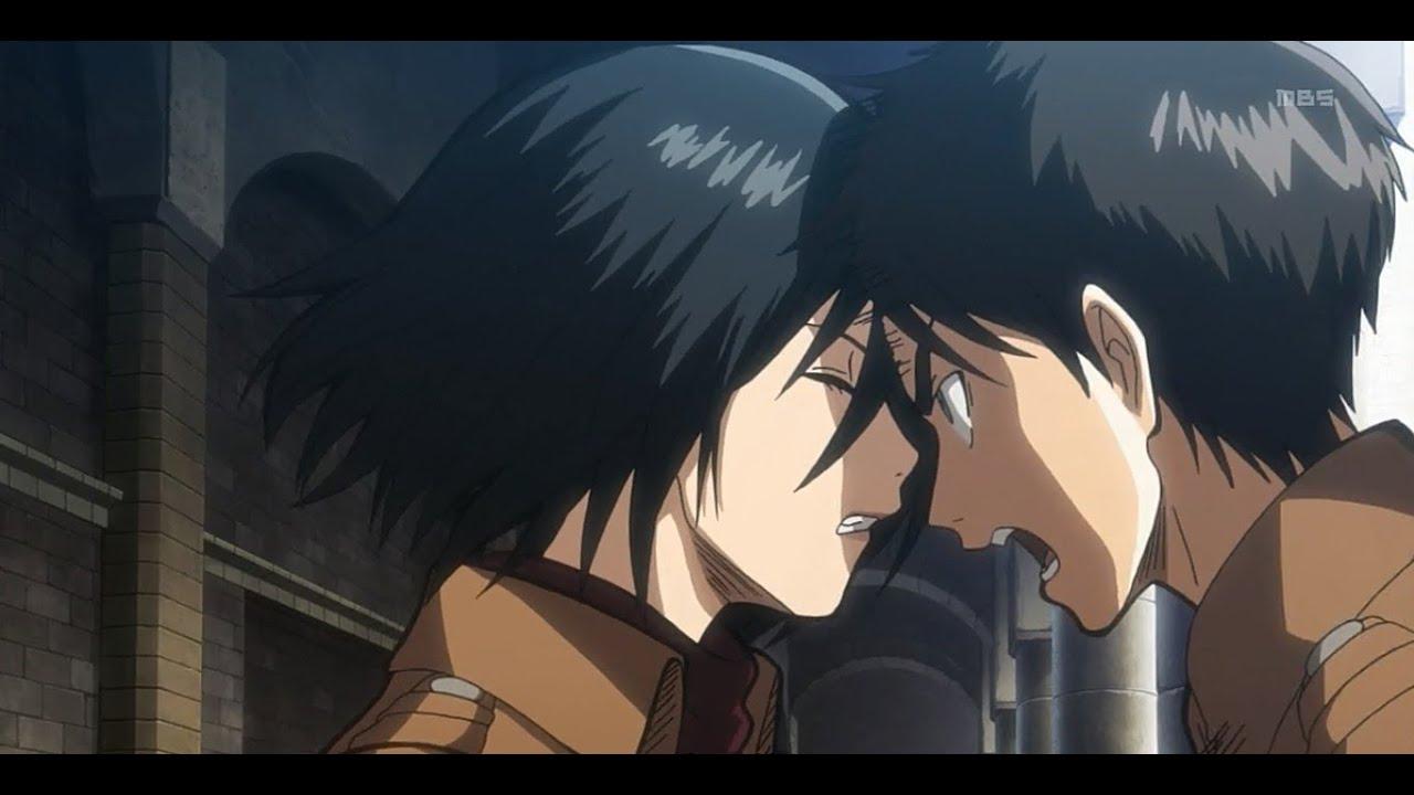 Kawaii Fall Wallpaper Eren Mikasa Quot Let S Be Alone Together Quot Amv Shingeki No
