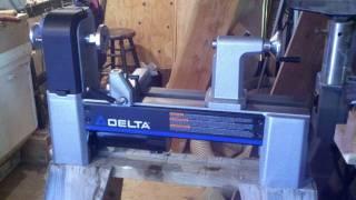 Woodturning My New Delta 46-460 Lathe