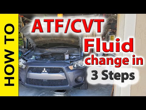 How To Change Automatic Transmission Fluid In Mitsubishi Outlander