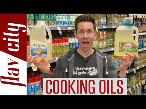 Cooking Oil Review At The Grocery Store - Healthy vs Toxic Oils