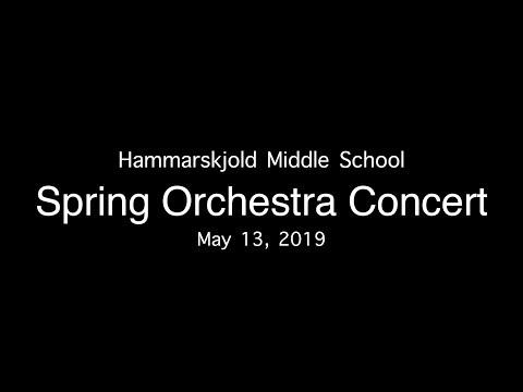 20190513 Hammarskjold Middle School - Spring Orchestra Concert