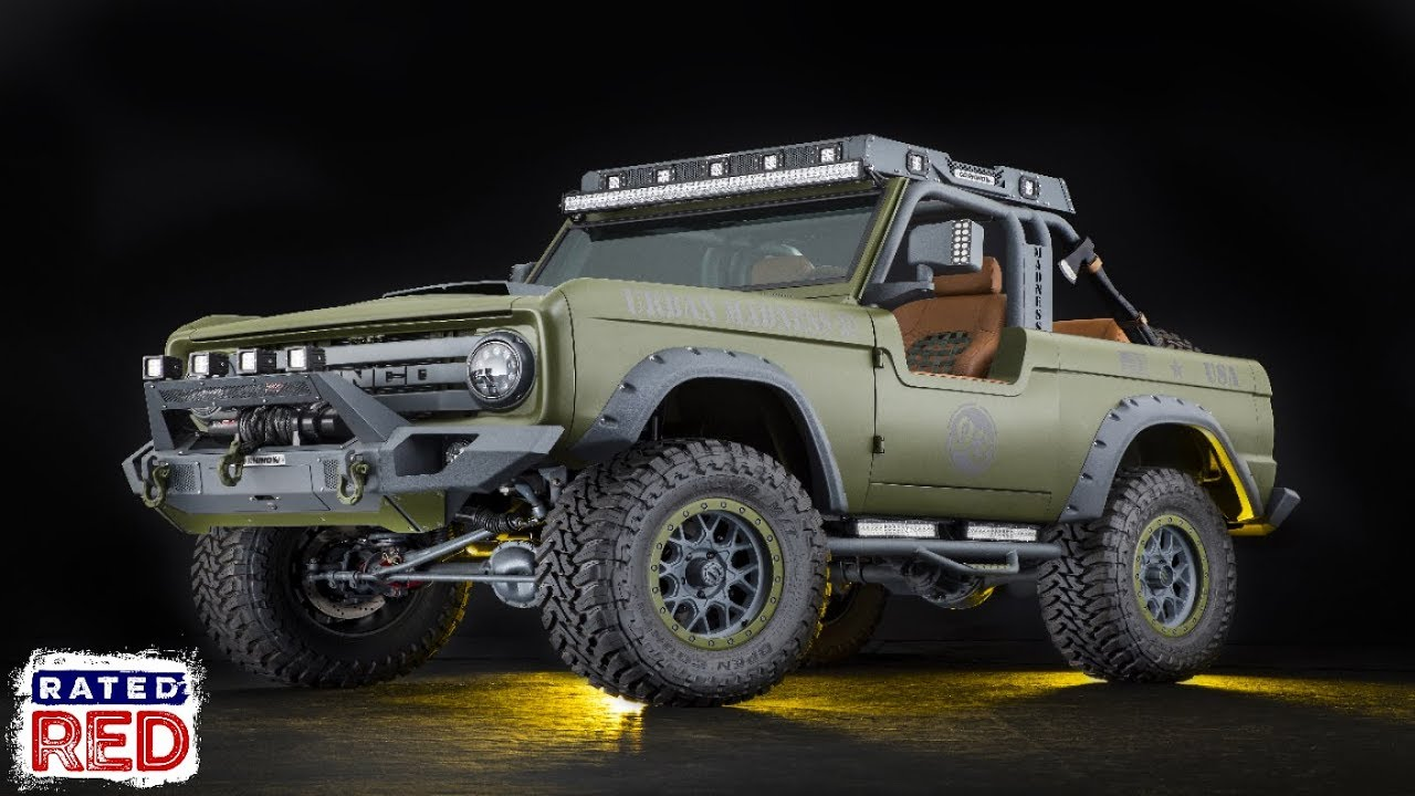 1969 Ford Bronco Urban Madness By Rmd Garage Mod