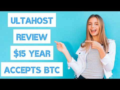 ULTAHOST HOSTING REVIEW $15 A YEAR 🤑 ACCEPTS BITCOIN (BTC)