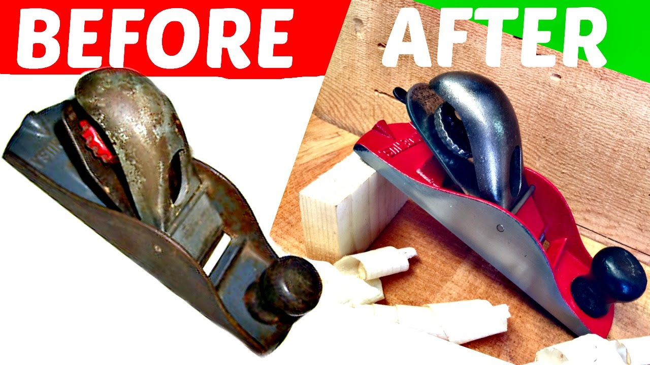 Restoring Old Stanley Wood Planes Youtube