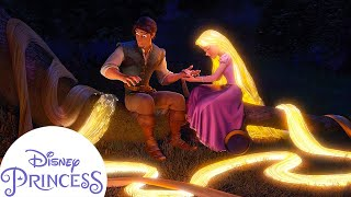 How Did Rapunzel Heal Flynn's Hand? | Disney Princess