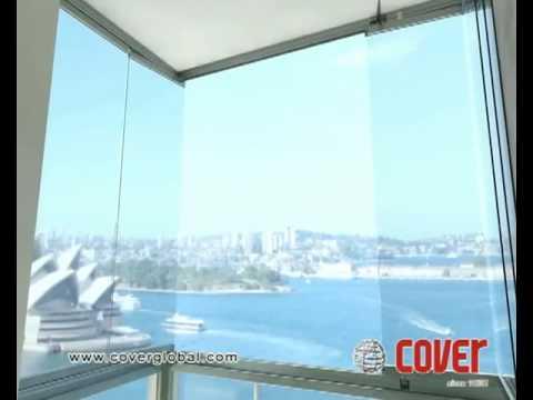 Frameless Glass Patio Deck Door Youtube