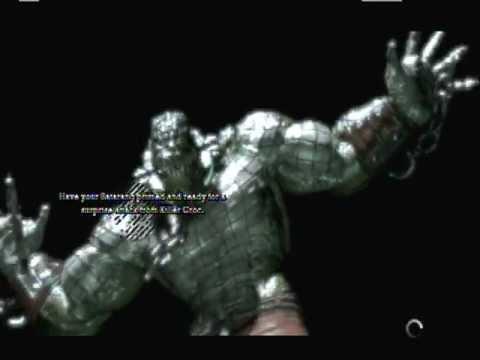 Batman: Arkham Asylum - Game Over: Killer Croc