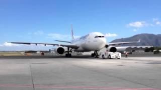 AIRCALIN A330 - repoussage NOUMEA LA TONTOUTA - NOUVELLE CA