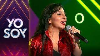Alejandra Quezada cantó