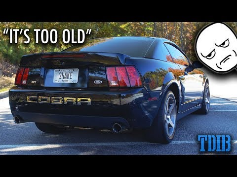 Does a Stock 03 Mustang Cobra Terminator Suck?