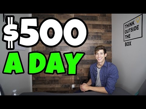 HOW I MAKE $500 A DAY TRADING STOCKS 2019