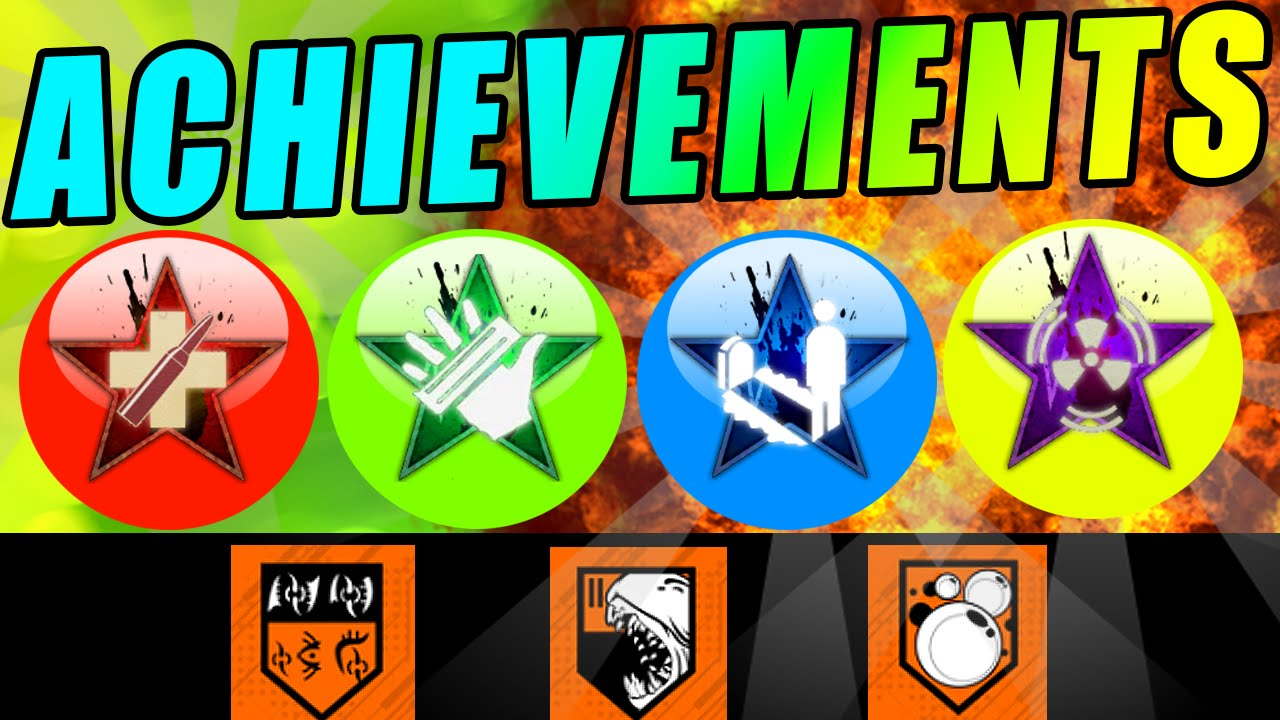 Black Ops 3 ZOMBIES - ACHIEVEMENTS! SECRET