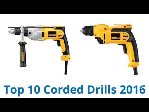10 Best Corded Drills 2016
