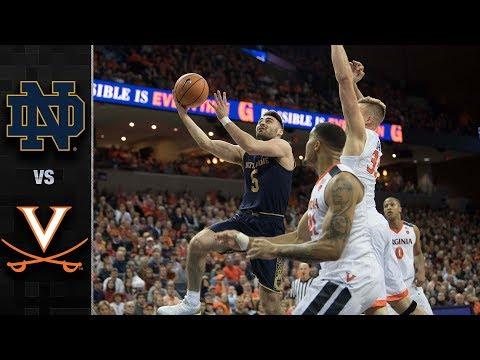 Notre Dame vs. Virginia Basketball Highlights (2017-18)