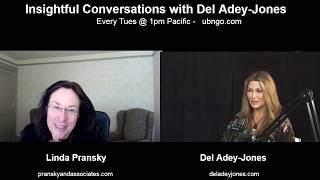 Linda Pransky on Insightful Conversations with Del Adey-Jones