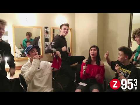 Syd The Intern Interviews Why Don't We + Kazoo Song Challenge