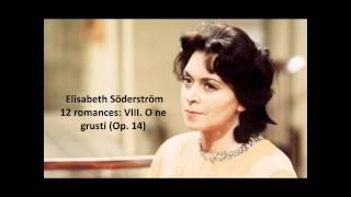"Elisabeth Söderström: The complete ""12 romances Op. 14"" (Rachmaninov)"