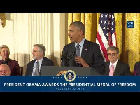 Margaret Hamilton and Grace Hopper Medal of Freedom ceremony