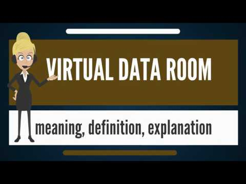 What is VIRTUAL DATA ROOM? What does VIRTUAL DATA ROOM mean? VIRTUAL DATA ROOM meaning & explanation