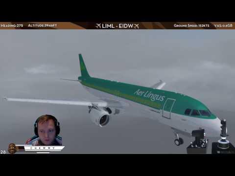 [P3D] VATSIM Event at Dublin, Ireland | Aer Lingus FSLabs Airbus A320