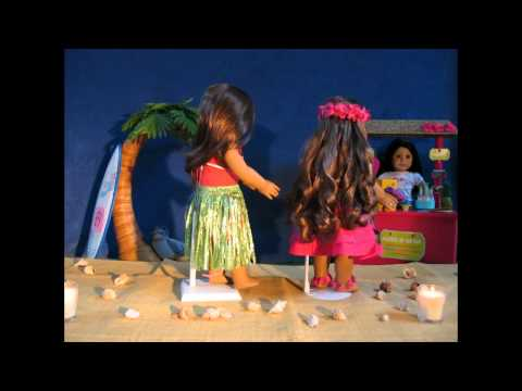 American Girl:  Kanani's Stop Motion Hula Dance