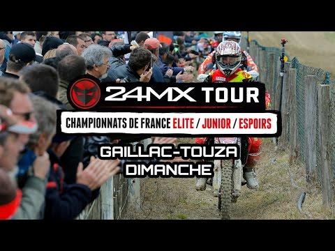 24MX Tour - Gaillac Toulza : Résumé Dimanche