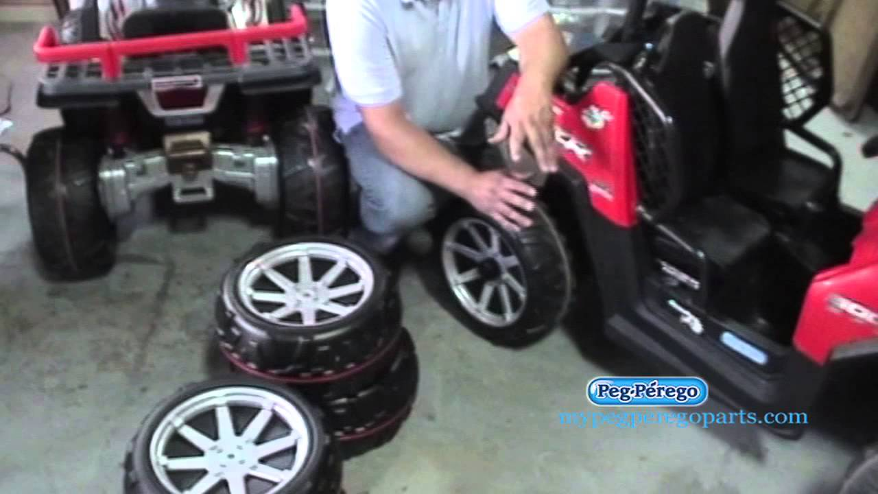 Is Only One Wheel Spinning On Your Peg Perego 24 Volt Rzr Child Ride Toy How To Fix It