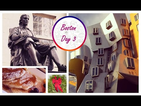 Harvard & MIT University Tour & The Nutcracker - Boston Day 3 - Christmas Travel Vlog
