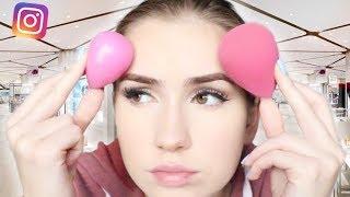 TESTING the Silicone Beauty Blender VS. Beauty Blender!!