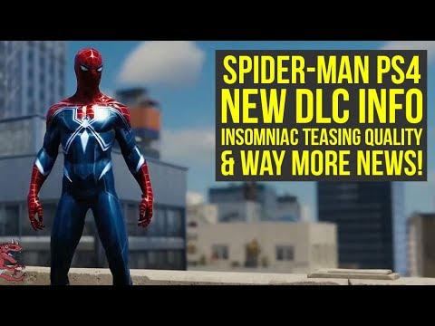 Spider Man PS4 DLC NEW INFO, Insomniac Teasing the Quality & Way More News! (Spiderman PS4 DLC)