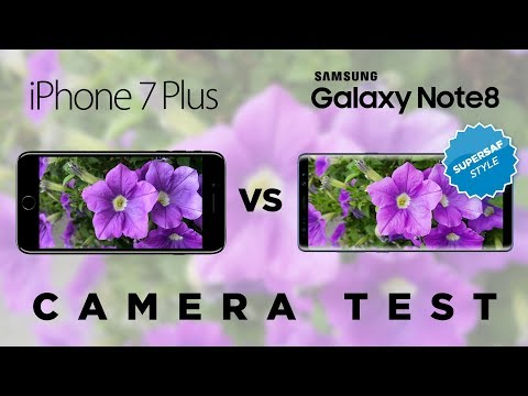 Thumbnail: Galaxy Note 8 vs iPhone 7 Plus Camera Test Comparison