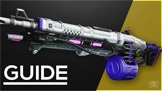 Destiny: How to Get Nova Mortis - Exotic Heavy Machine Gun