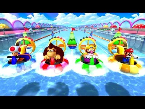 Mario Party 10 - Wario amiibo Board (2 Player amiibo Party Mode)