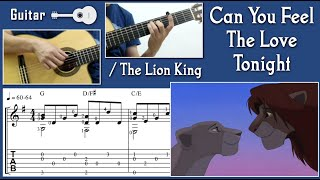 Can You Feel The Love Tonight / The Lion King (Guitar) 獅子王(吉他)
