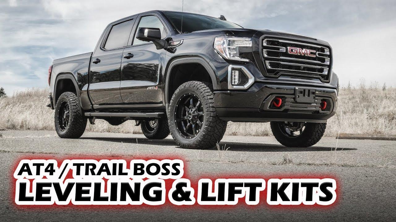 GMC AT4 Chevy Trail Boss Lift Kits - ReadyLIFT - YouTube